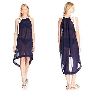 NWT Ted Baker Navy Beach Cover Up